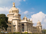 The Vidhana Soudha, in Bangalore, India.