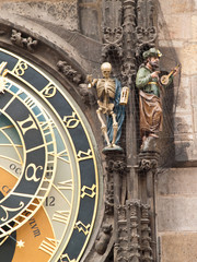 The Astronomical Clock, Prague.