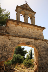 Ruins of Sassia Monastery Bell Tower
