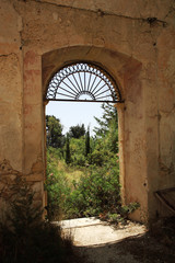 View through the Monastery window