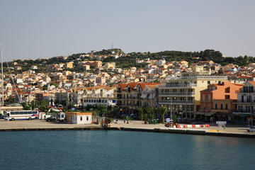 View of the capital of Kefalonia