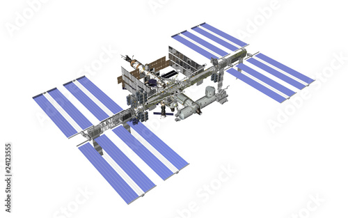iss render white