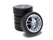 Set di gomme nuove