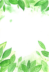 watercolor background illustration