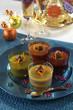chestnut mousse with orange jelly