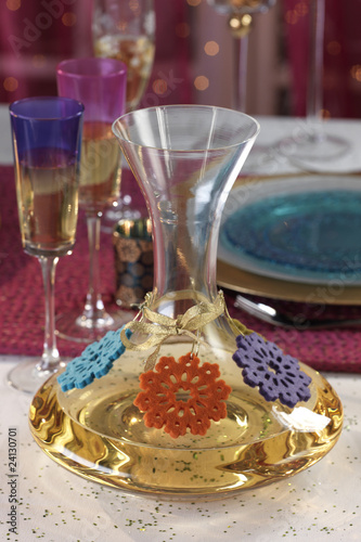 decorated decanter