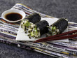 lentil sprout makis