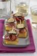 bite-size polenta appetizers