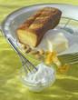 almond and orange-flavored sponge cake