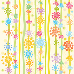 Vector seamless pattern for your design