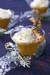 mango and jasmin cream cappuccino