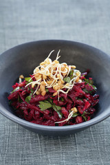beetroot and fenugreek salad