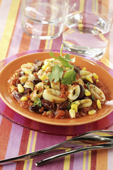 mexican-style squid
