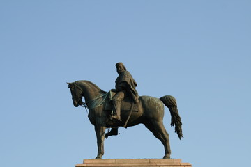 Statua equestre di Giuseppe Garbaldi