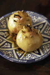 baked pears with cloves