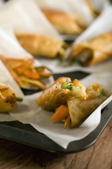 vegetable turnovers