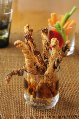 flaky pastry aperitif sticks