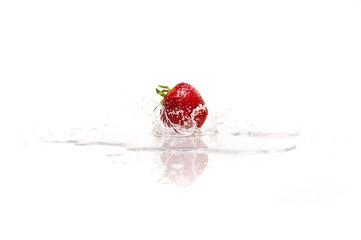 Erdbeere-Spritzer