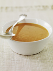 cream of chickpea soup