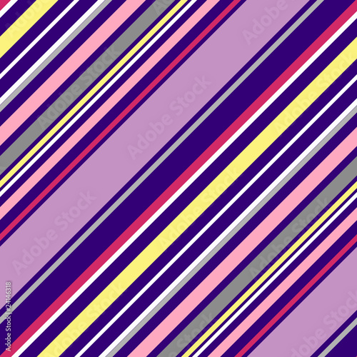 Bright bias pinstripe ornament. Seamless pattern.