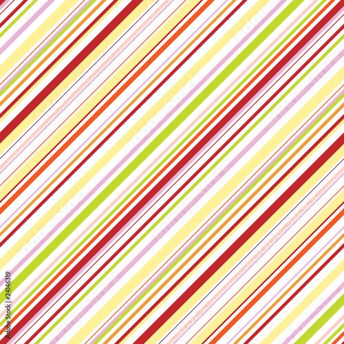 Bright bias pinstripe ornament. Seamless pattern.