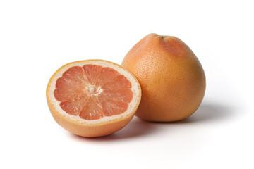 One and half grapefruit