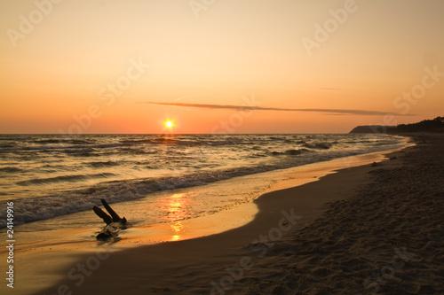 Obraz Wschód Słońca Karwia