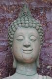 buddha image, Tarae graveyard stupa, Mahasarakam poster