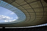 Berlin olympic stadium roof construction