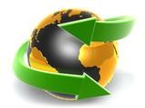 green arrow with earth_d