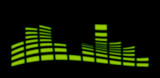green wave graphical equalizer