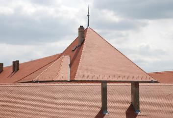Dachensemble in Pécs