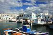 Fischerhafen und Altstadt von Paros