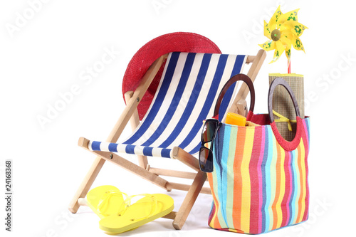 Leinwandbild Motiv sommerferien