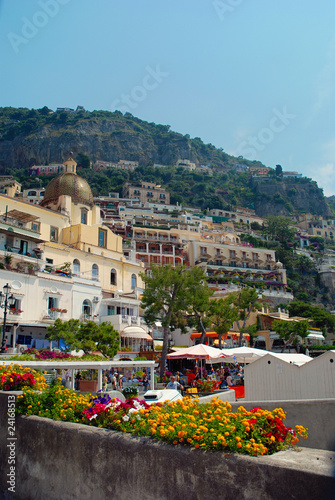 Positano panorama estate 2010 Italia