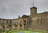 Montjuic castle poster
