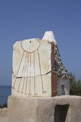 orologio antico solare sicilia