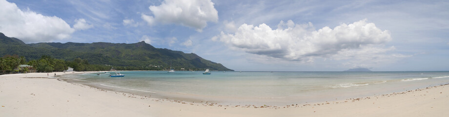 Beau Vallon Beach at the Seychelles