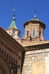 Mudejar cathedral of Teruel town Aragon Spain