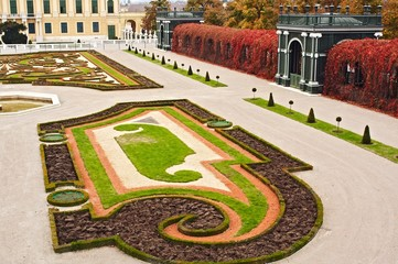 the Crown Prince Rudolf garden, Schonbrunn palace, Vienana