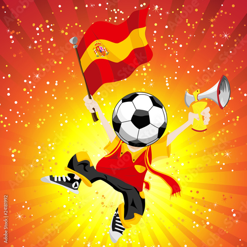 Spain Soccer Winner.