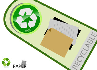 Please recycle paper