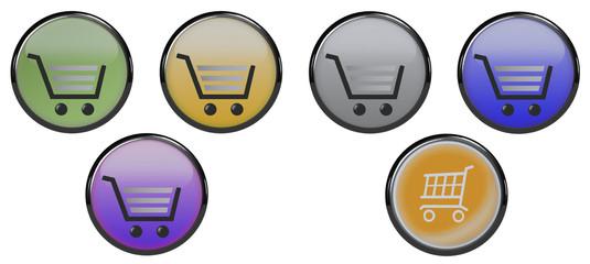 Button Warenkorb