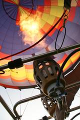 Brenner Heißluftballon
