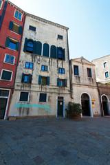 Italien, Venedig. Judenviertel Ghetto, Synagoge