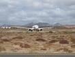 Flugzeug auf dem Aeroporto Lanzarote bei Arrecife