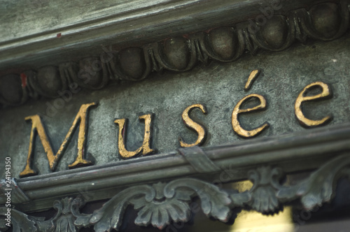 Fotobehang Theater Musée
