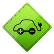 elektroantrieb, elektroauto, e-car, button