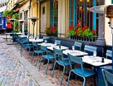 Fototapety French restaurant