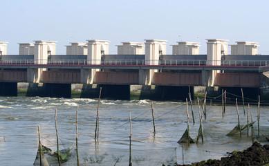 Afsluitdijk or Enclosure Dam